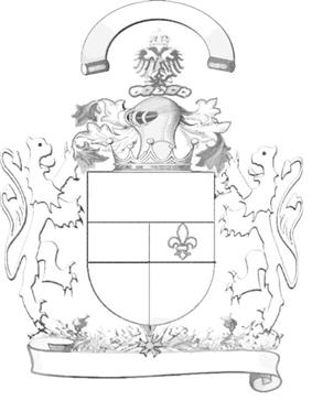 Outline of coat of arms