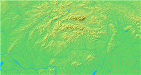 Location of Trenčianske Teplice in Slovakia