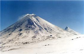 Klyuchevskaya Sopka Volcano