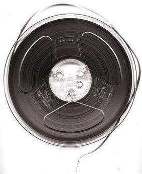 Magnetic tape.