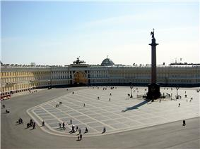 Palace Square, Saint Petersburg