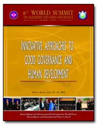 Innovative Approaches to Good Governance... by Hwan, Kwak Chung