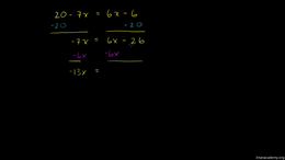 More fancy equations for beginners : Exa... Volume Algebra series by Sal Khan