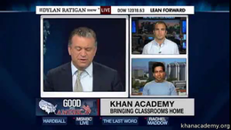 Talks and Interviews : Sal on Dylan Rati... by Sal Khan