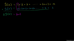 Induction : Alternate Proof to Induction... Volume Trigonometry and precalculus series by Sal Khan