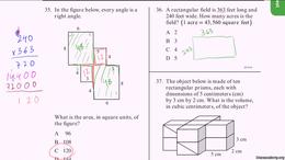 CAHSEE : CAHSEE Practice: Problems 35-37 by Sal Khan