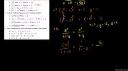 Old school equations with Sal : Order of... Volume Algebra series by Sal Khan