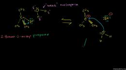 SN1 vs SN2 : Sn1 Reactions Volume Organic Chemistry series by Sal Khan