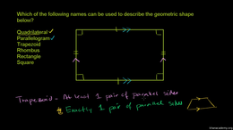 Perimeter and area of non-standard shape... Volume Geometry series by Sal Khan