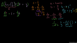 Implicit differentiation : Trig Implicit... Volume Calculus series by Sal Khan