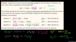 Thermodynamics : Hess's Law Example Volume Science & Economics series by Sal Khan