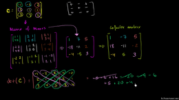 Inverting matrices : Inverting 3x3 part ... Volume Algebra series by Sal Khan