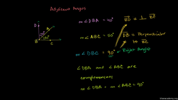 Angle basics and measurement : Complemen... Volume Geometry series by Sal Khan