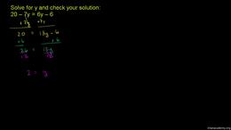 More fancy equations for beginners : Exa... Volume Algebra series by Sal Khan