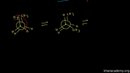 Conformations of alkanes and cycloalkane... Volume Organic Chemistry series by Sal Khan