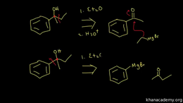 Synthesis of alcohols : synthesis of alc... Volume Organic Chemistry series by Sal Khan
