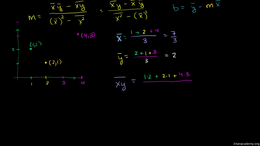 Linear regression and correlation : Regr... Volume Probability and statistics series by Sal Khan