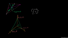 Medians and centroids : Triangle Medians... Volume Geometry series by Sal Khan