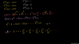 Maclaurin and Taylor series : Taylor Ser... Volume Calculus series by Sal Khan