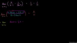 L'Hôpital's Rule : L'Hôpital's Rule Exam... Volume Calculus series by Sal Khan