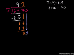 Loooong division! : More long division a... Volume Arithmetic and Pre-Algebra series by Sal Khan