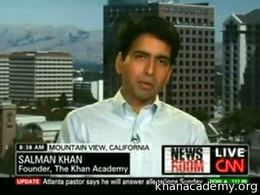 Talks and Interviews : CNN: Google award... by Sal Khan