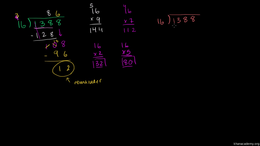 Partial quotient division : Partial Quot... Volume Arithmetic and Pre-Algebra series by Sal Khan