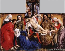 Flanders : Van der Weyden's Deposition Volume Art History series by Beth Harris, Steven Zucker