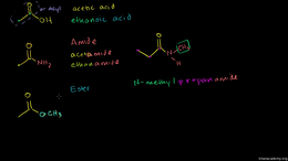 Formation of carboxylic acid derivatives... Volume Organic Chemistry series by Sal Khan