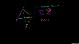 Angle bisectors : Angle Bisector Theorem... Volume Geometry series by Sal Khan