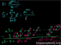 Sequences and series : Sequences and ser... Volume Trigonometry and precalculus series by Sal Khan