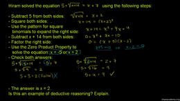 Deductive and inductive reasoning : Dedu... Volume Trigonometry and precalculus series by Sal Khan