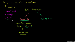 Life insurance : Term and Whole Life Ins... Volume Finance and capital markets series by Sal Khan
