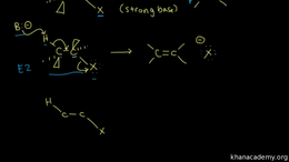 E1 and E2 reactions : E2 Elimination: me... Volume Organic Chemistry series by Sal Khan