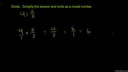 Mixed number multiplication and division... Volume Arithmetic and Pre-Algebra series by Sal Khan