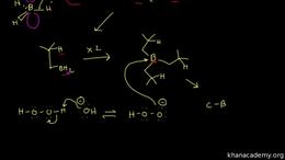 Alkene reactions : hydroboration-oxidati... Volume Organic Chemistry series by Sal Khan