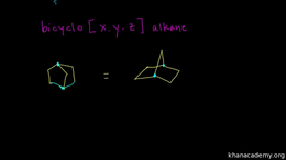 Naming alkanes, cycloalkanes, and bicycl... Volume Organic Chemistry series by Sal Khan