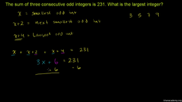 More equation practice : Challenge examp... Volume Algebra series by Sal Khan