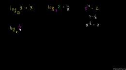 Logarithm basics : Fancier logarithm exp... Volume Algebra series by Sal Khan