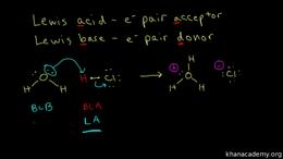 Acid/base : lewis acid and base Volume Organic Chemistry series by Sal Khan