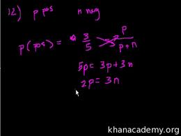 SAT Math : SAT Prep: Test 3 Section 2 Pa... by Sal Khan
