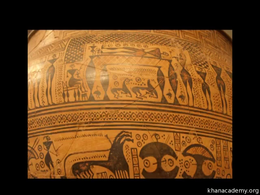 Ancient Greece : Terracotta Krater (Geom... Volume Art History series by Beth Harris, Steven Zucker
