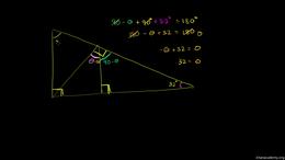 Angles : Triangle Angle Example 3 Volume Angles series by Sal Khan