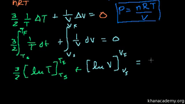 Thermodynamics : Proof: Volume Ratios in... by Sal Khan