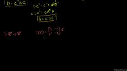 Change of basis : Alternate Basis Transf... Volume Linear Algebra series by Sal Khan