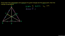 Altitudes : Common Orthocenter and Centr... Volume Geometry series by Sal Khan