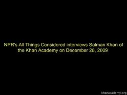 Talks and Interviews : Salman Khan inter... by Sal Khan