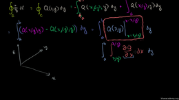 Green's theorem : Green's Theorem Proof ... Volume Calculus series by Sal Khan