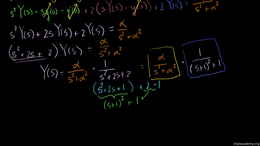 The convolution integral : Using the Con... Volume Differential Equations series by Sal Khan