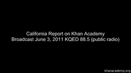 Talks and Interviews : Khan Academy on C... by Sal Khan